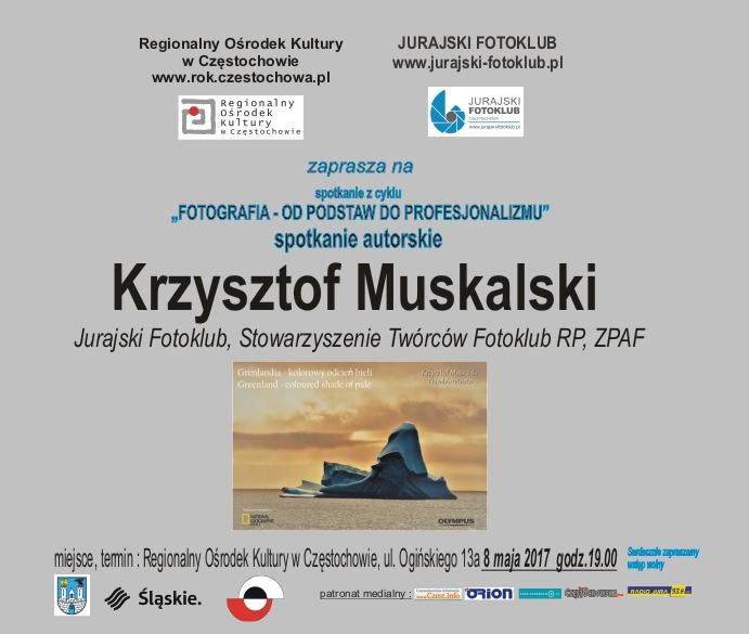 plakat Muskalski Grenlandia